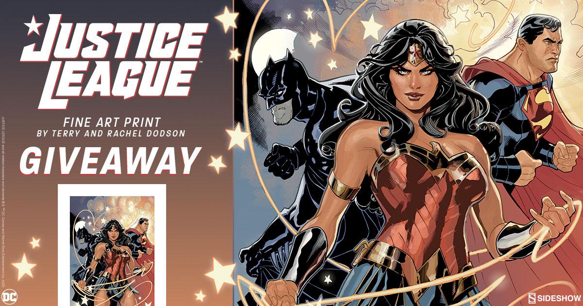 Justice League Fine Art Print Giveaway