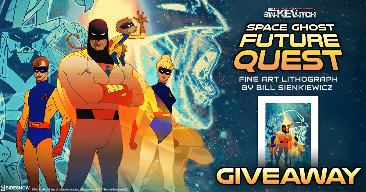 Space Ghost: Future Quest Fine Art Lithograph Giveaway