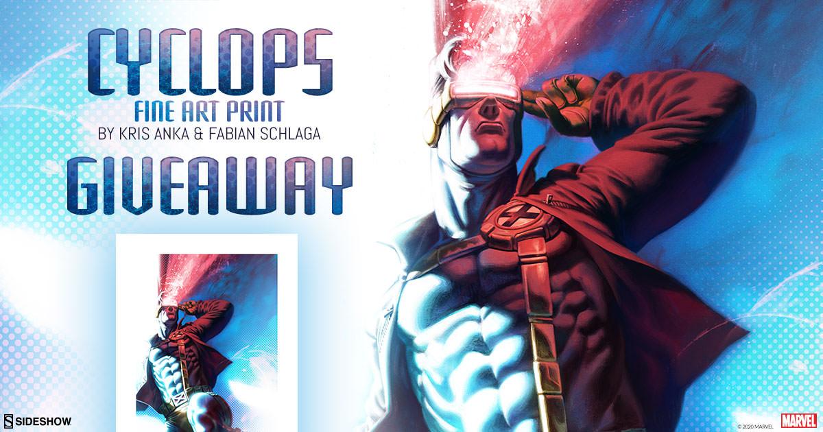 Cyclops Fine Art Print Giveaway