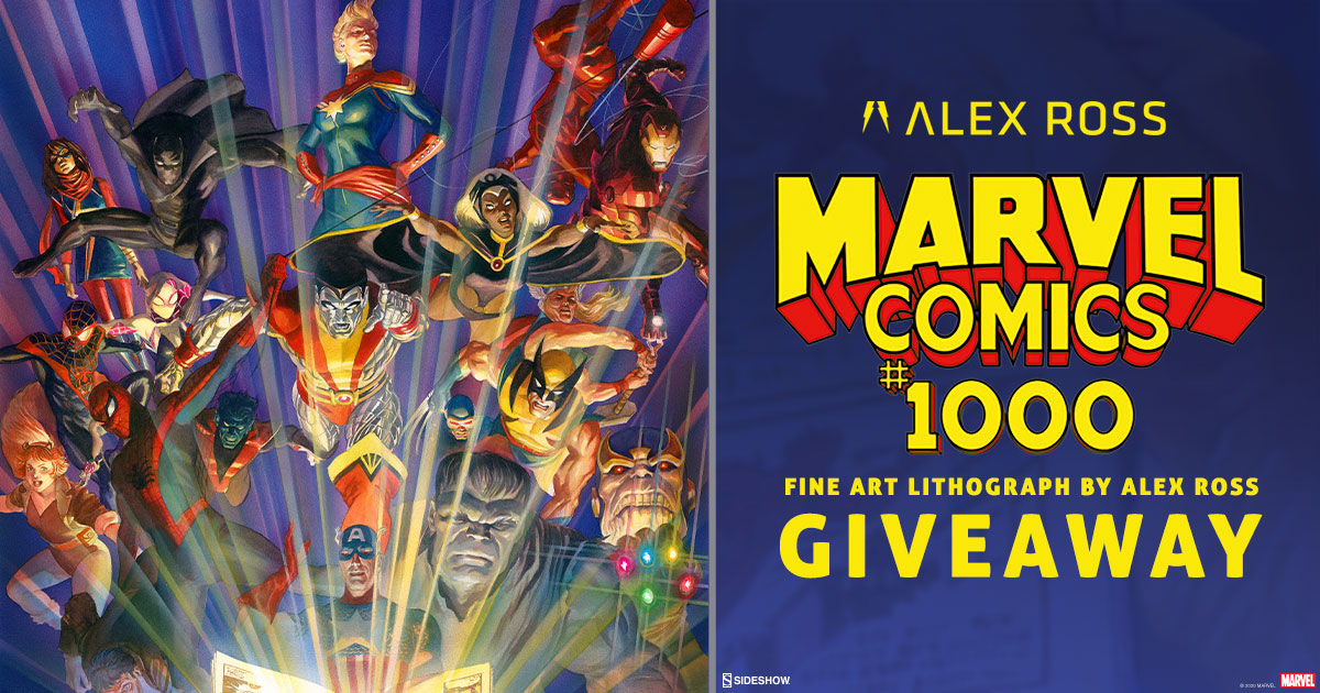 Marvel Comics #1000 Fine Art Lithograph Giveaway