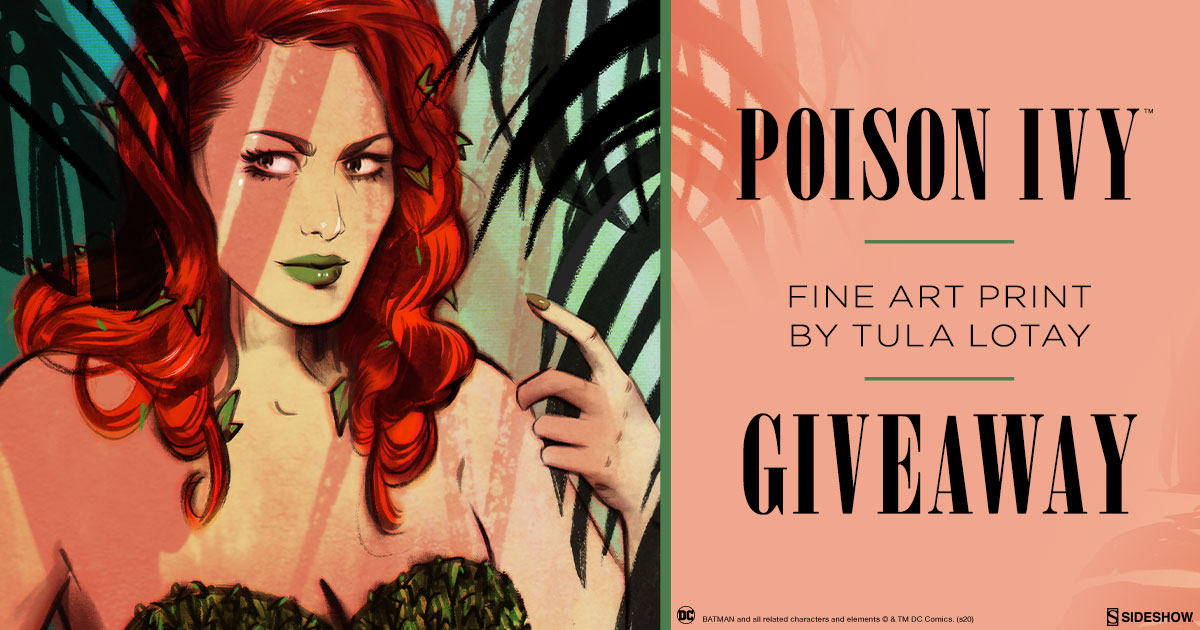 Poison Ivy Fine Art Print Giveaway