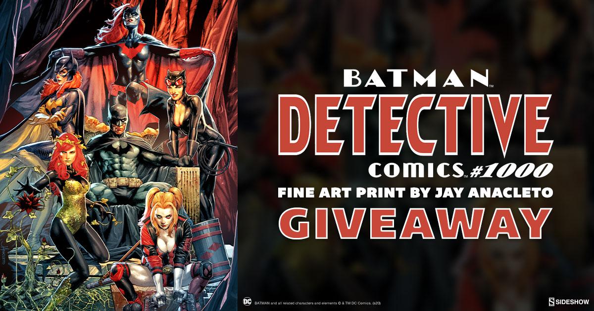 Batman: Detective Comics #1000 Fine Art Print Giveaway