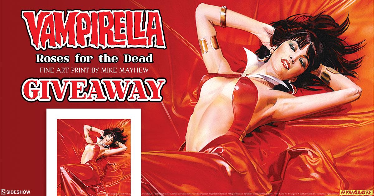 Vampirella: Roses for the Dead Fine Art Print Giveaway