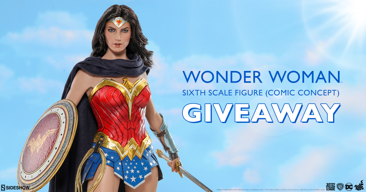 Wonder Woman Comic Concept Sixth Scale Figure Newsletter Giveaway