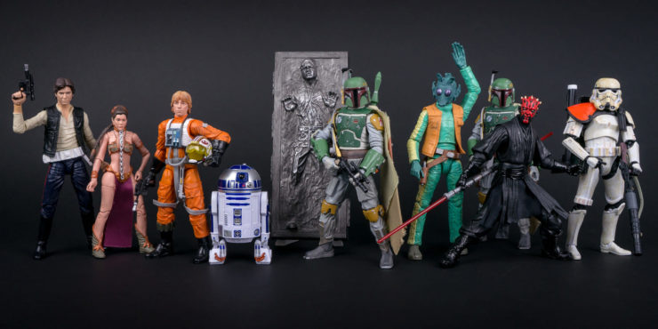 Hasbro Black Series Figures
