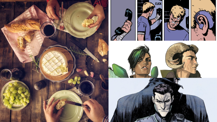 Pick a 5-Course Meal and We'll Tell You Which Comic You Should Read