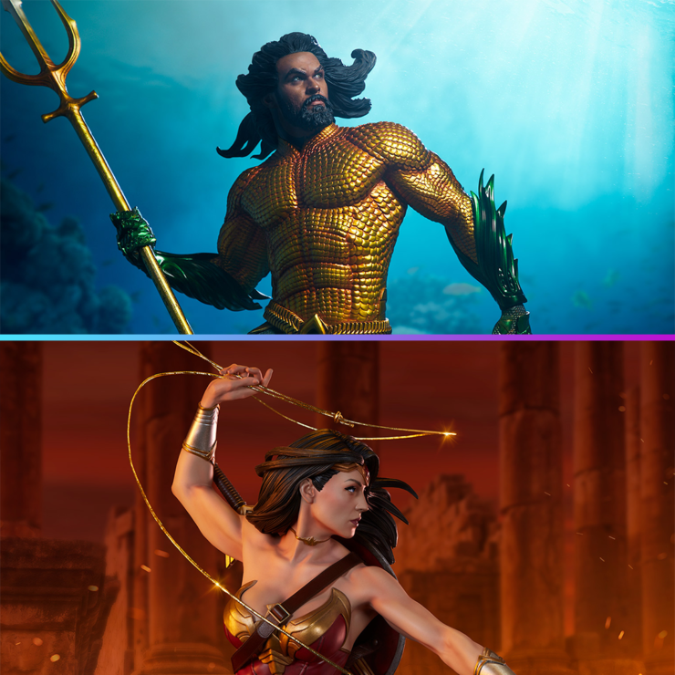 Wonder Woman vs. Aquaman