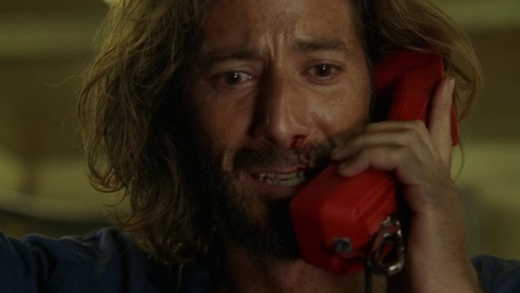 Lost- The Constant- Desmond on Phone