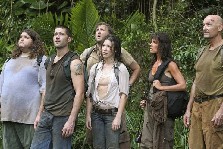Lost- Characters in Jungle