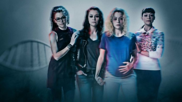 Orphan Black- Character Key Art