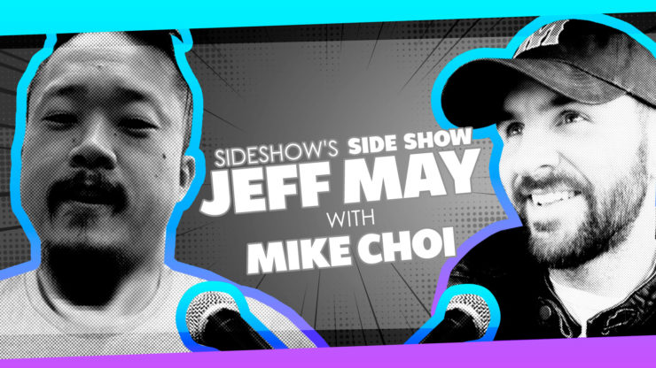 Artist Mike Choi Talks Happiness, Health, and Comics on Sideshow's Side Show with Jeff May