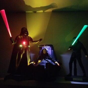 Vader, Luke, & Palpatine Figures