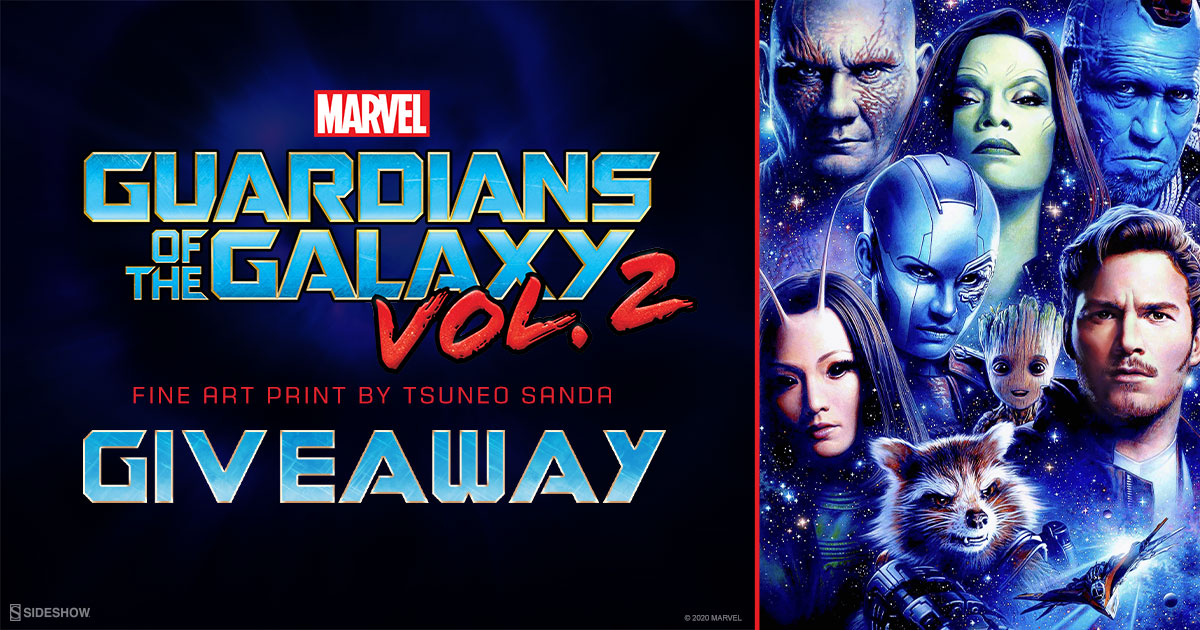 Guardians of the Galaxy Vol. 2 Fine Art Print Giveaway