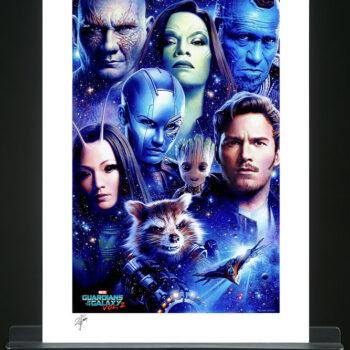 Tsuneo Sanda Guardians of the Galaxy Vol. 2 Print Unframed