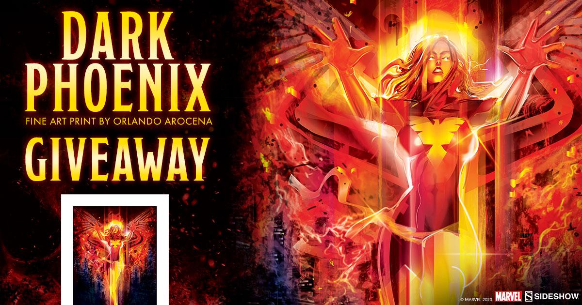 Dark Phoenix Fine Art Print Giveaway
