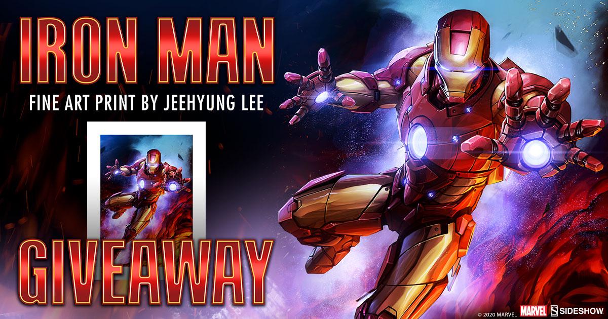 Iron Man Fine Art Print Giveaway
