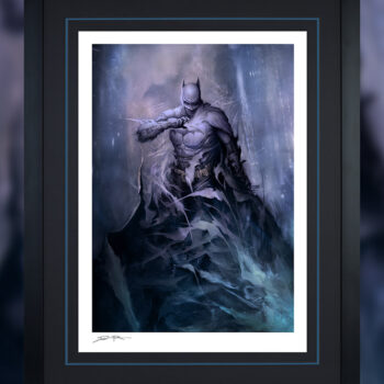 Batman: Detective Comics #1006 Fine Art Print Black Frame