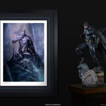Batman: Detective Comics #1006 Fine Art Print with Batman PF Display