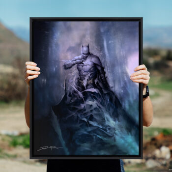 Batman: Detective Comics #1006 Gallery Wrapped Canvas Open Air Shot