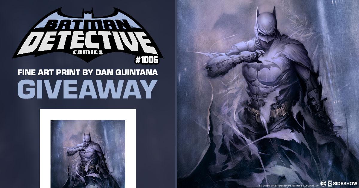 Batman: Detective Comics #1006 Fine Art Print Giveaway