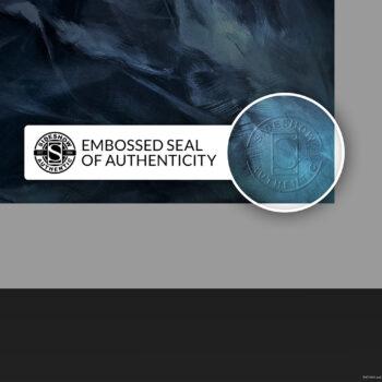Batman: Detective Comics #1006 Fine Art Print Unframed- Embossed Seal of Authenticity