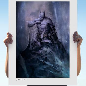 Batman: Detective Comics #1006 Fine Art Print Unframed- Open Air Shot