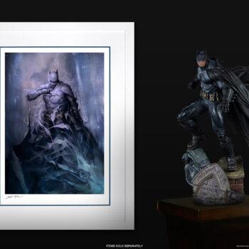 Batman: Detective Comics #1006 Fine Art Print White Frame with Batman PF