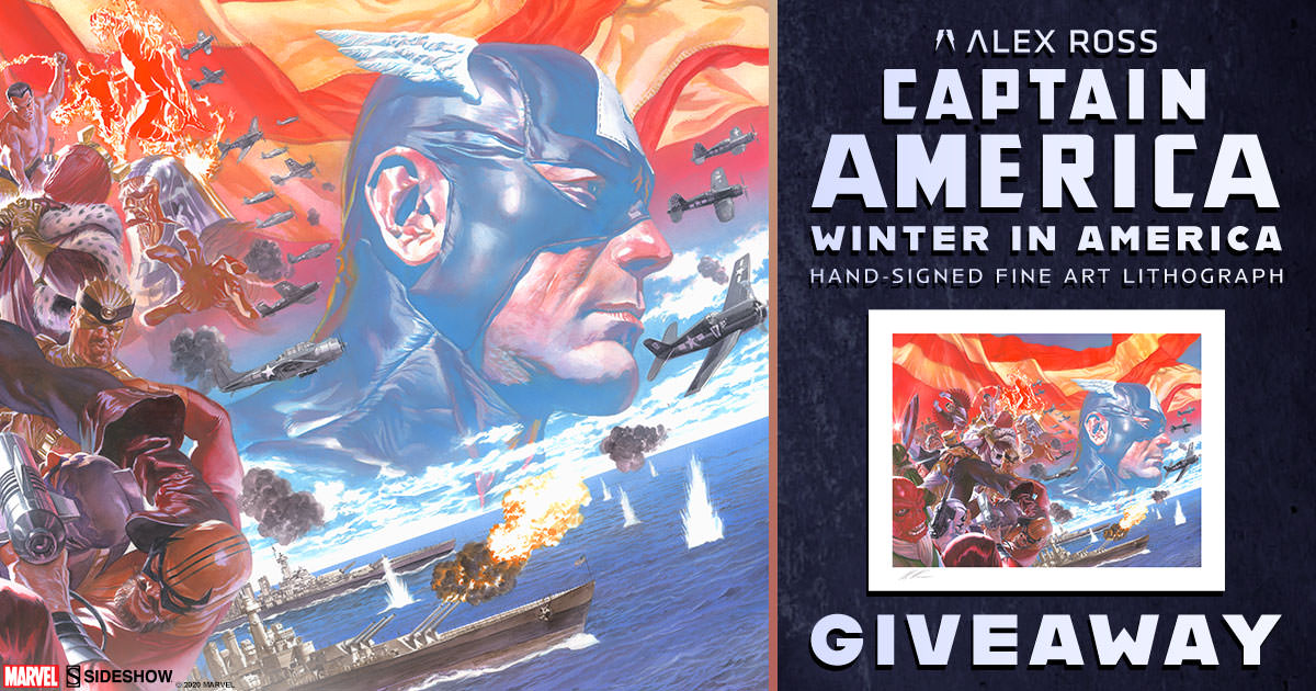 Captain America: Winter in America Fine Art Lithograph Giveaway
