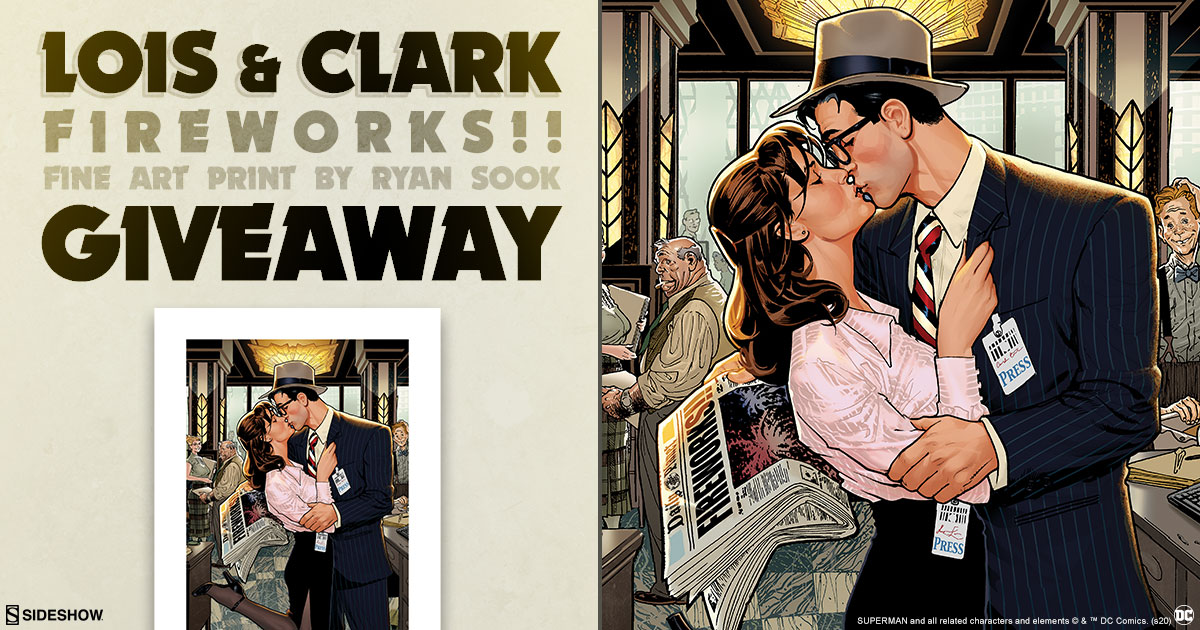Lois and Clark: Fireworks! Fine Art Print Giveaway