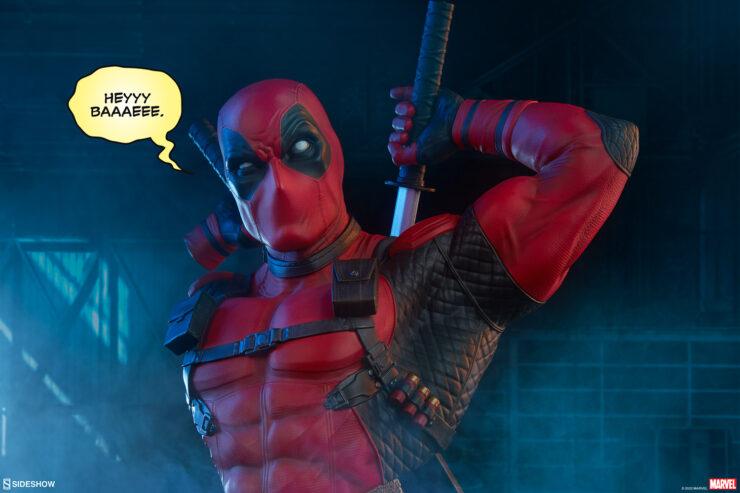 New Photos of the Deadpool Bust
