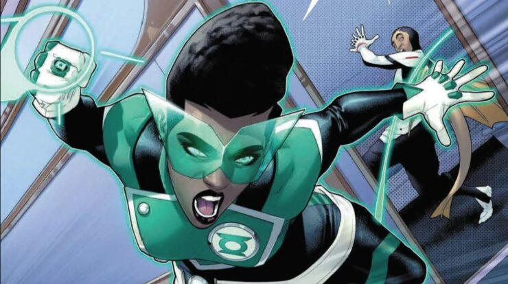 The Powerful (Human) Green Lanterns of the DC Universe