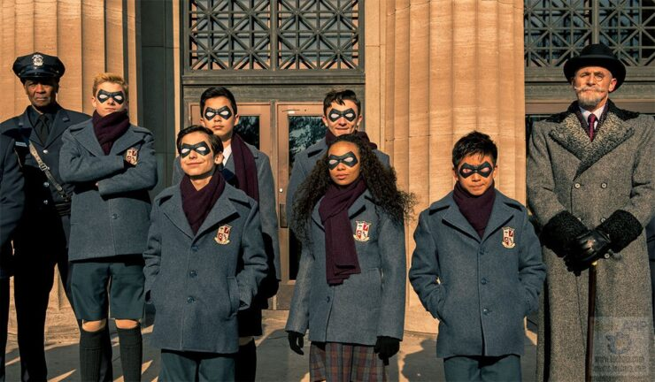 Netflix- Umbrella Academy
