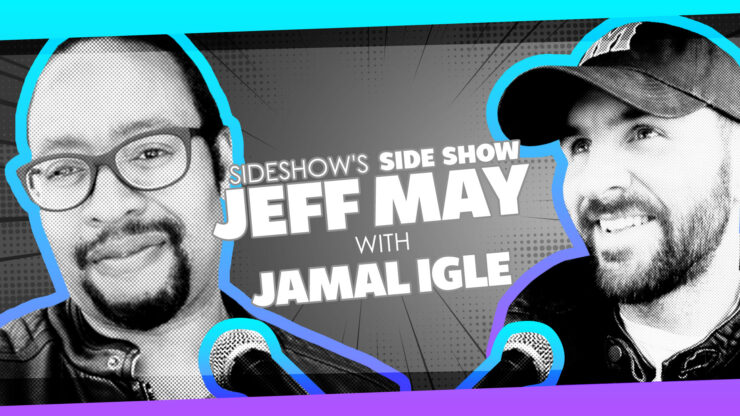 Working for DC as a Teen, Unexpected Gigs, and More with Artist/Writer Jamal Igle on Sideshow's Side Show with Jeff May