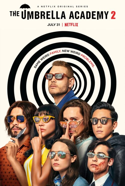 New Umbrella Academy Season 2 Poster, The Falcon and The Winter Soldier Update, and more!