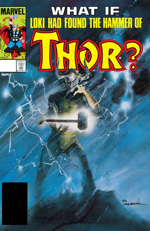 What if Loki Had Found the Hammer of Thor?
