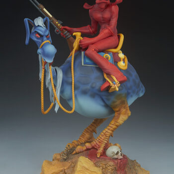 Wiliam Stout's Red Rider Statue