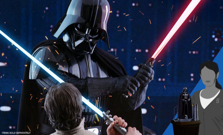 Darth Vader: ESB Sixth Scale by Hot Toys