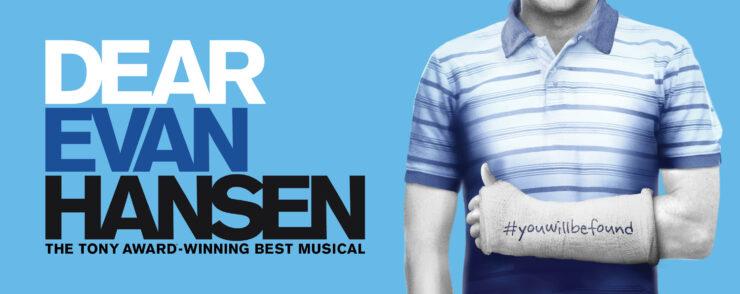 Dear Evan Hansen Broadway Poster