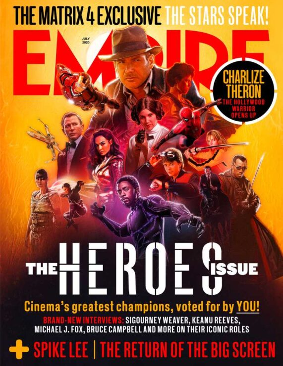 Empire July 2020- Heroes Issue Cover