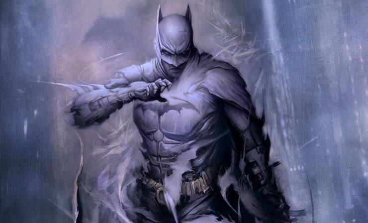 From the Shadows Emerges the Batman: Detective Comics #1006 Fine Art Print by Artist Dan Quintana