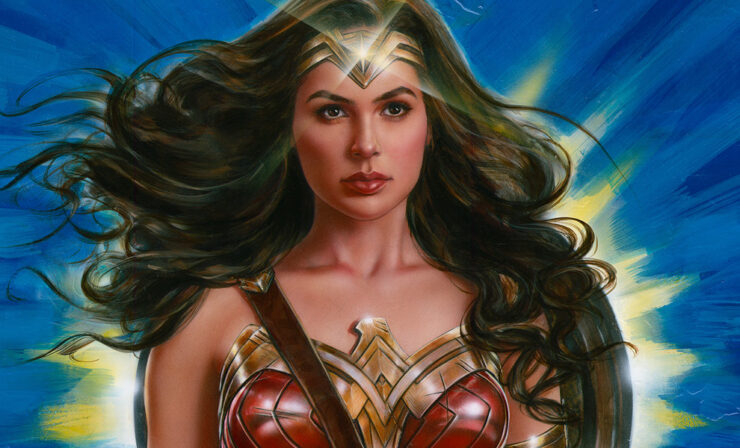 The Wonder Woman: Lasso of Truth Fine Art Print by Artist Olivia De Berardinis