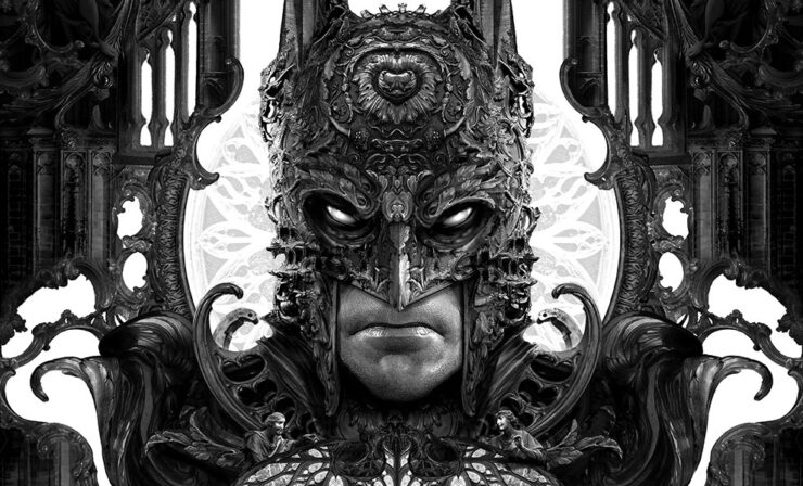 The Batman Fine Art Print by Nekro
