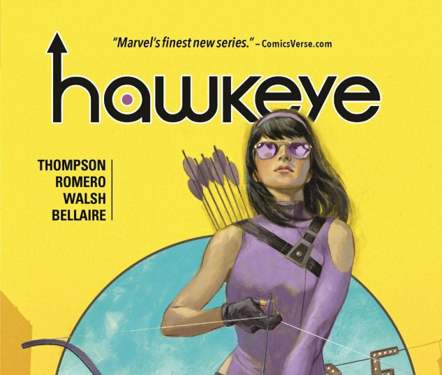 Hawkeye: Anchor Points from Marvel Comics