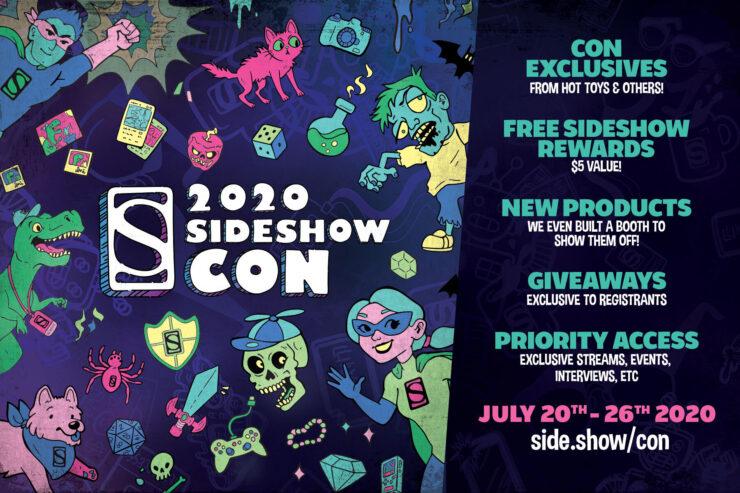 SideshowCon Pre-Reg Poster