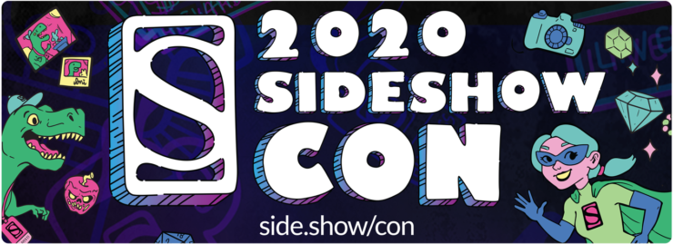 Announcing Sideshow Con 2020- The Con is On from July 20th-26th!