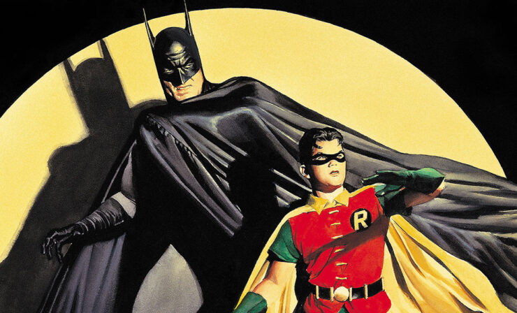 The Dynamic Duo by Alex Ross