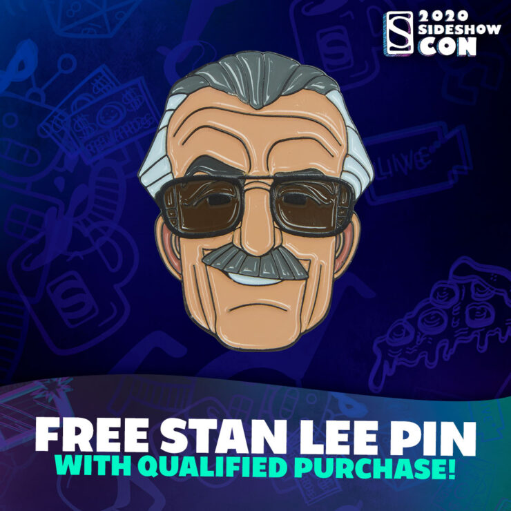 How To Get A FREE Stan Lee Pin! – Sideshow Con 2020