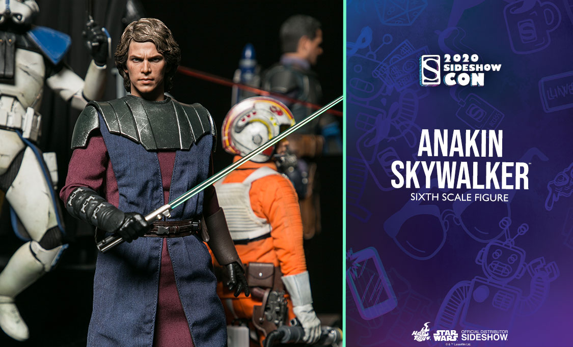 Sci-Fi - NEW PRODUCT: HOT TOYS: STAR WARS: THE CLONE WARS ANAKIN SKYWALKER AND STAP 1/6TH SCALE COLLECTIBLE SET 1125x682_previewbanner_906712_Anakin
