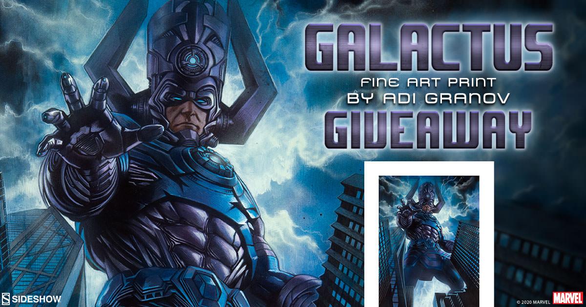 Galactus Fine Art Print Giveaway