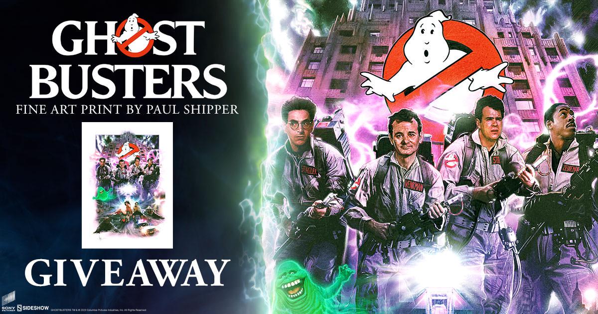 Ghostbusters Fine Art Print Giveaway